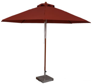 (BJ1011) 11 Ft. Wood Market Umbrella