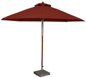 (BJ1011) 11 Ft. Wood Market Umbrella