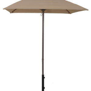 (EC55FPOP-SQU) 5 1/2' Aluminum Market Square Pop-Up Umbrella