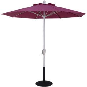 (EC75FCRK-MKT) 7.5 ft. Aluminum Market Crank Umbrella