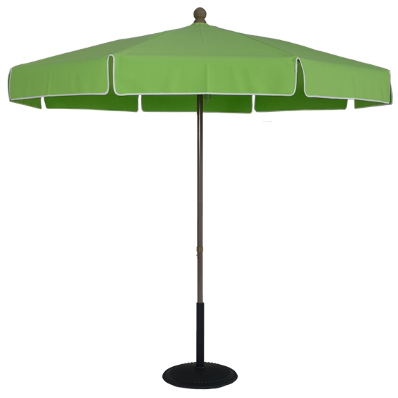 (EC75FPOP-STD) 7.5 ft. Aluminum Standard Pop-Up No Tilt Umbrella