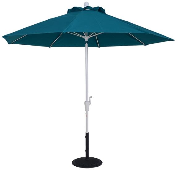 (EC9FAUTO) 9 ft. Aluminum Market Auto-Tilt Umbrella
