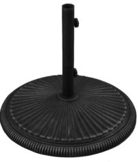 (T500) 50 lb. Cast Iron Umbrella Base
