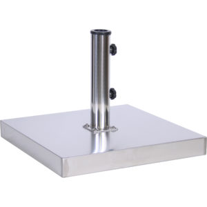 (EC55) 55 lb. Stainless Steel Cement Umbrella Base
