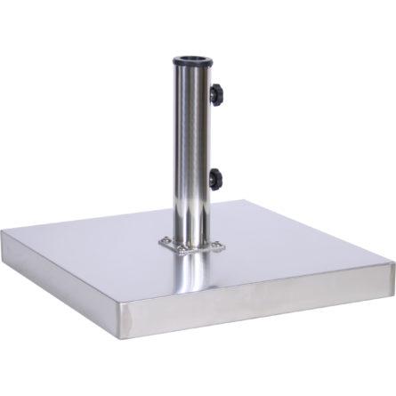 (EC55) 55 lb. Stainless Steel Cement Umbrella Base