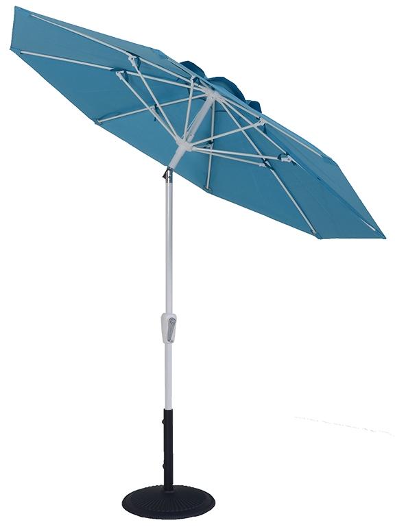 (EC75FAUTO-MKT) 7.5 ft. Aluminum Market Auto-Tilt Umbrella
