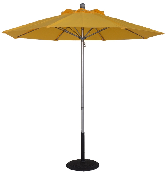 (EC75FPOP-MKT) 7.5 ft. Aluminum Pop-Up Market Umbrella