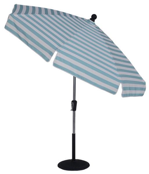 (EC75SFCRKT) 7 1/2 ft Crank & Manual Tilt Fiberglass Standard Umbrella