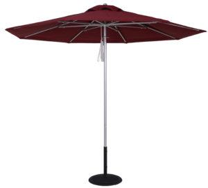(EC854MAC) 9 Ft. Commercial Heavy Duty Aluminum Market Umbrella
