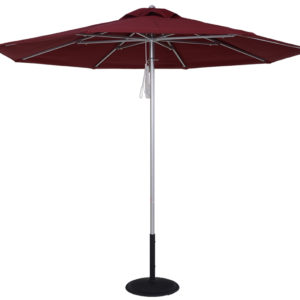 (EC854MAC) 9 Ft. Commercial Heavy Duty Aluminum Market Umbrella