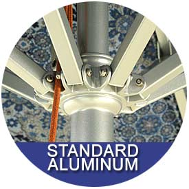 Standard Aluminum Umbrellas by East Coast Umbrellas