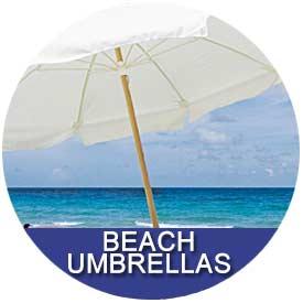 Beach Umbrellas by East Coast Umbrellas