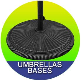 Umbrella Bases by East Coast Umbrellas